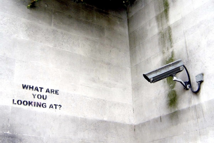 "Banksy ""What are you looking at?"", 2004"