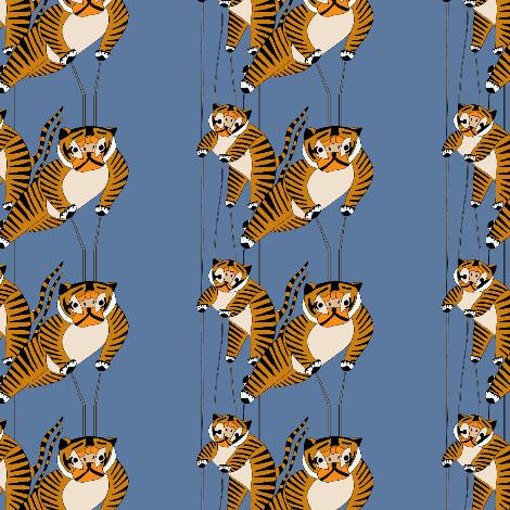Tiger Kite Pattern
