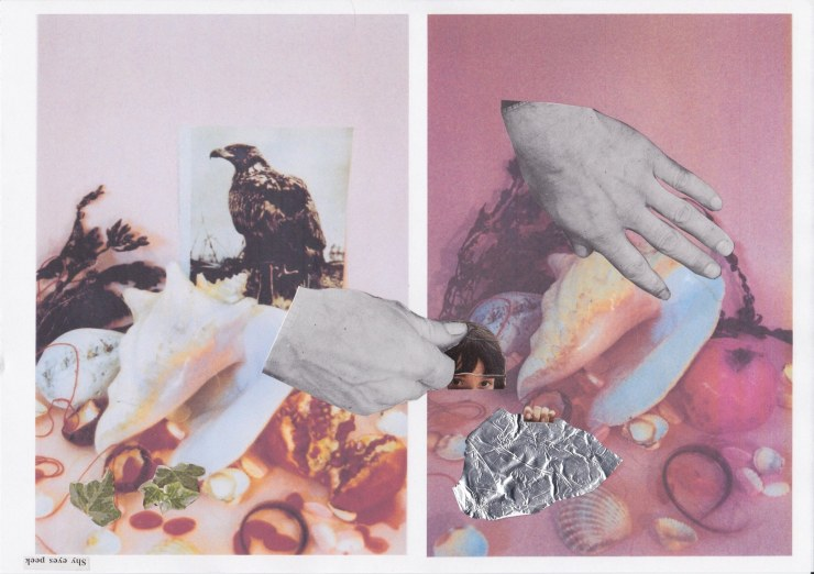 Annabel Duggleby, 2014, Collage
