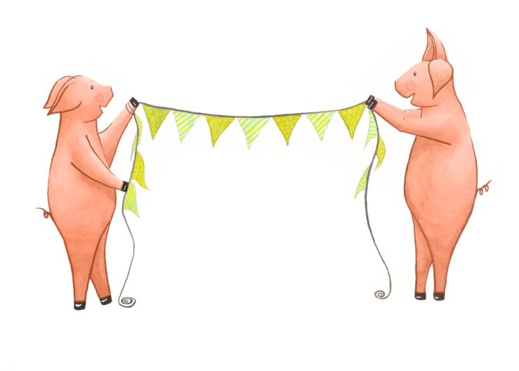 Celebration pigs