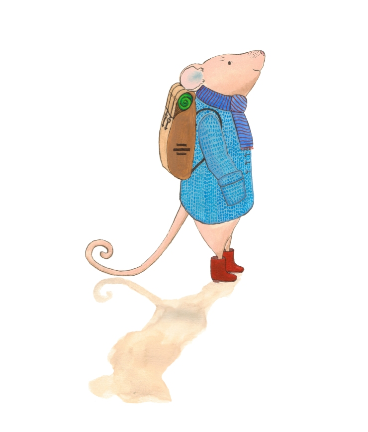 Travelling mouse