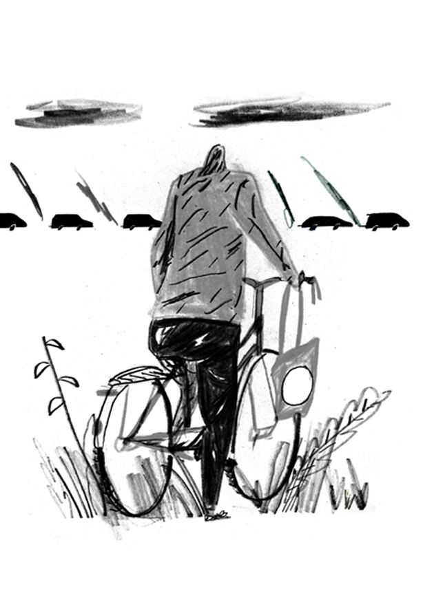 Cyclist & Pollution