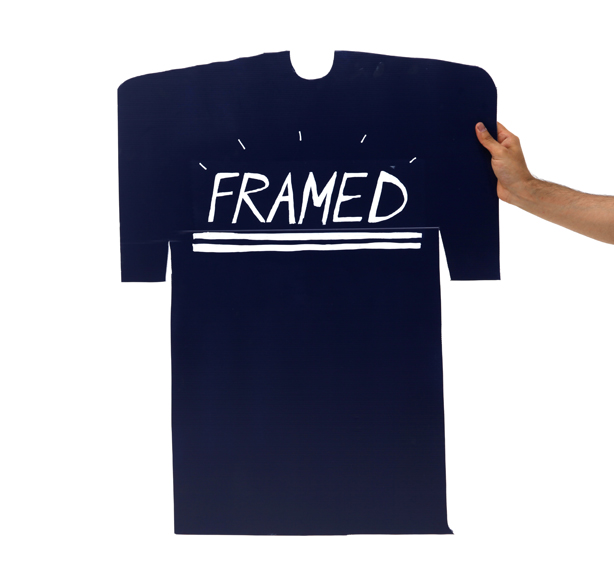 Framed tshirt