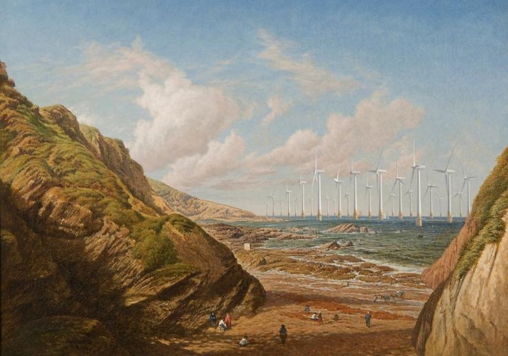 La Cour's Landscape 1