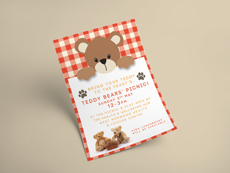 May Flyer - Teddy Bears Picnic