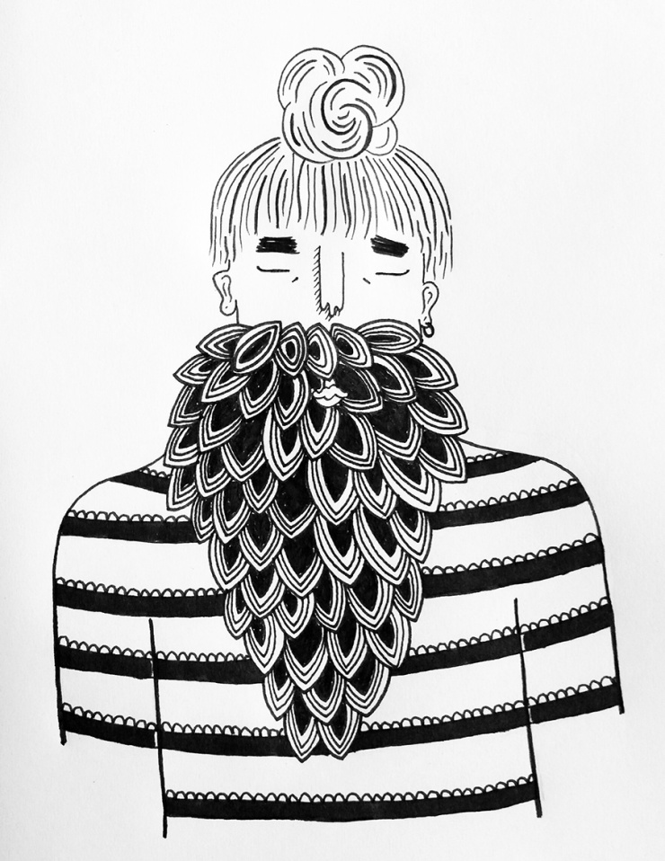 Soapbox-Press-Visualisation-Robyn-Ridley-Illustration-Fine-Line-Man-Beard